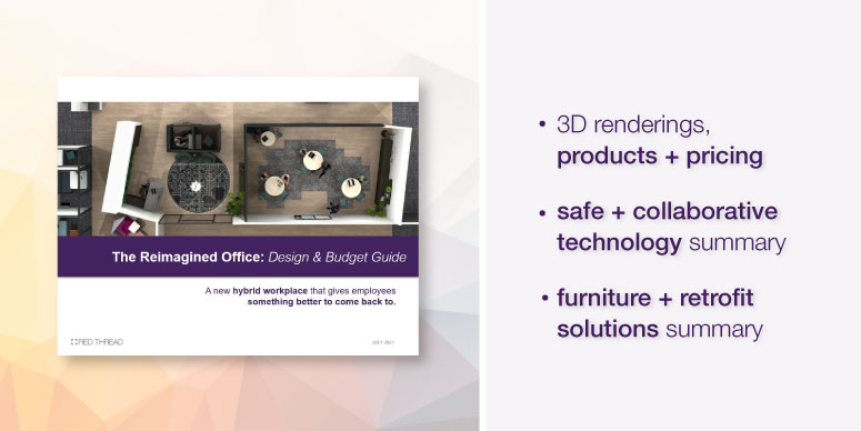 The Reimagined Office Design & Budget Guide by Red Thread