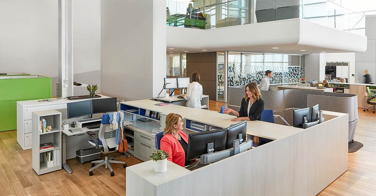 Workplace transformation for flexible workspaces